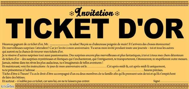 ticket d'or 3