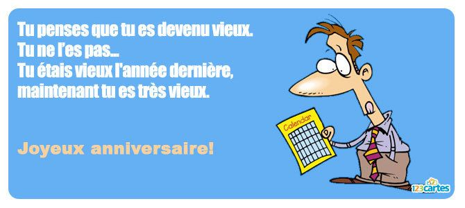 anniversaire humour citation