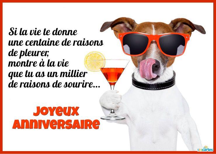 Carte anniversaire virtuelle gratuite a envoyer sur facebook - Cartes virtuelles animees gratuites ...
