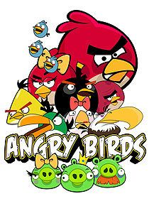 coloriage angry birds à imprimer