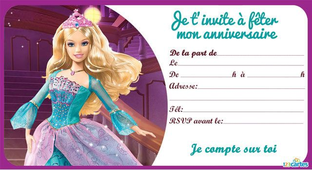 la princesse barbie