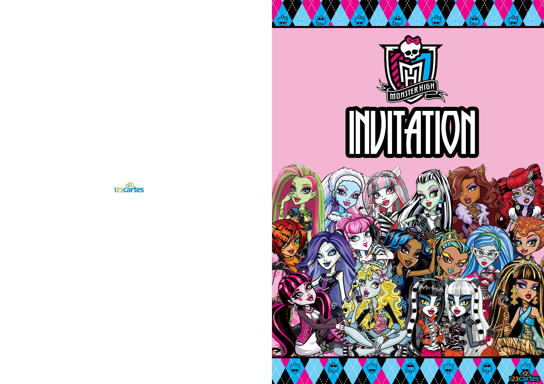 plusieurs personnages monster high