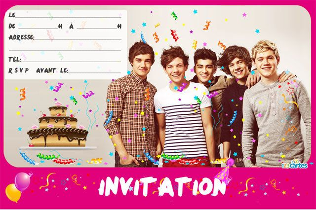 anniversaire one direction