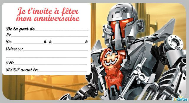 Gut gemocht Carte Invitation Star Wars Gratuite Imprimer. Coloriage Dark Vador  VN07