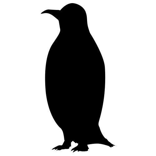 pochoir pingouin gratuit à imprimer