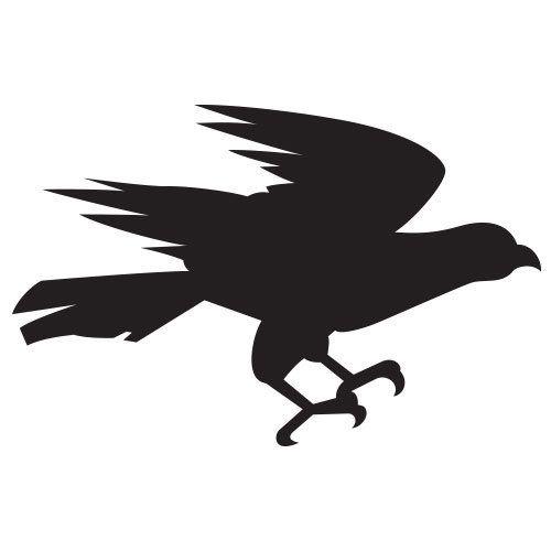pochoir aigle gratuit à imprimer