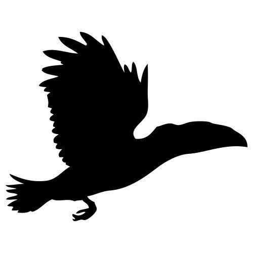 pochoir oiseau gratuit à imprimer