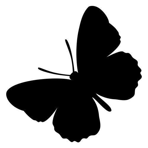 pochoir papillon 2 gratuit à imprimer