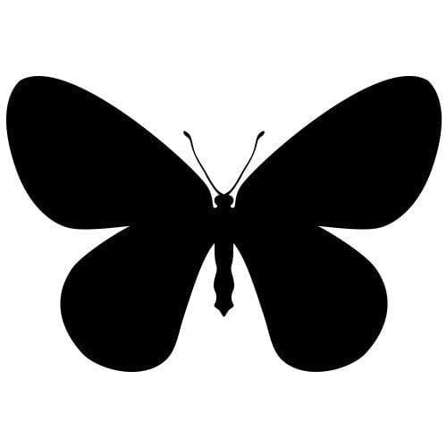 pochoir papillon gratuit à imprimer
