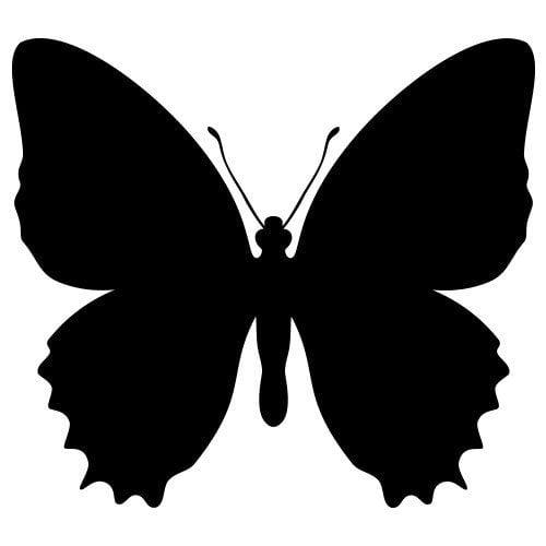 Pochoir Papillon Gratuit à Imprimer 123 Cartes