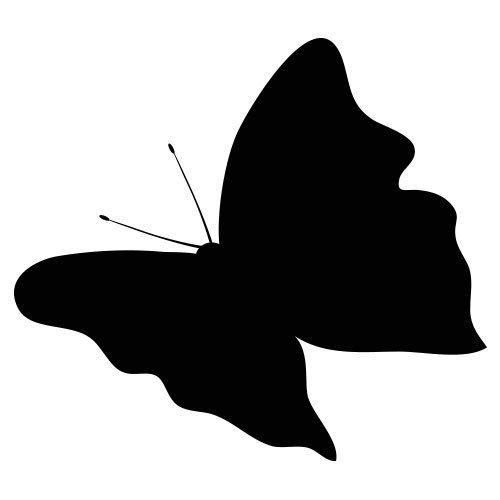 pochoir papillon 7 gratuit à imprimer