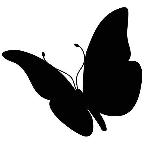 pochoir papillon 14 gratuit à imprimer