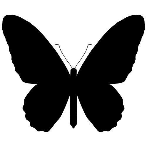 pochoir papillon 15 gratuit à imprimer