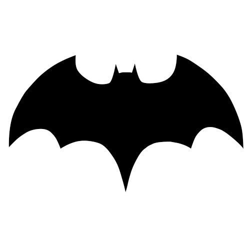 Pochoir Batman A Imprimer Gratuit 123cartes