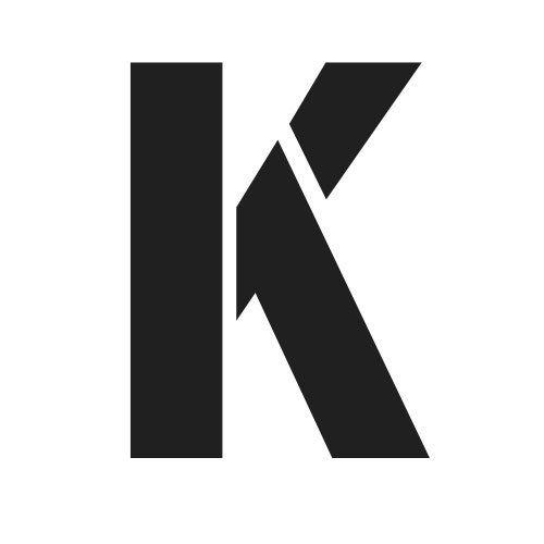 pochoir lettre K gratuit à imprimer