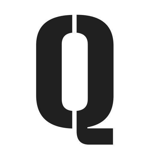 pochoir lettre Q gratuit à imprimer