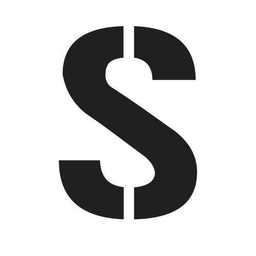 pochoir lettre S gratuit à imprimer