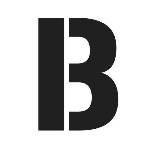 pochoir lettre B gratuit à imprimer