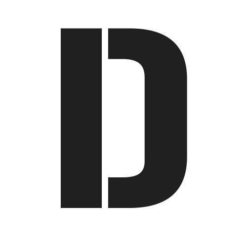pochoir lettre D gratuit à imprimer