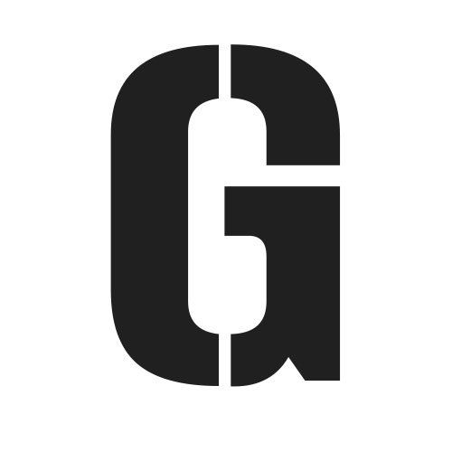 pochoir lettre G gratuit à imprimer