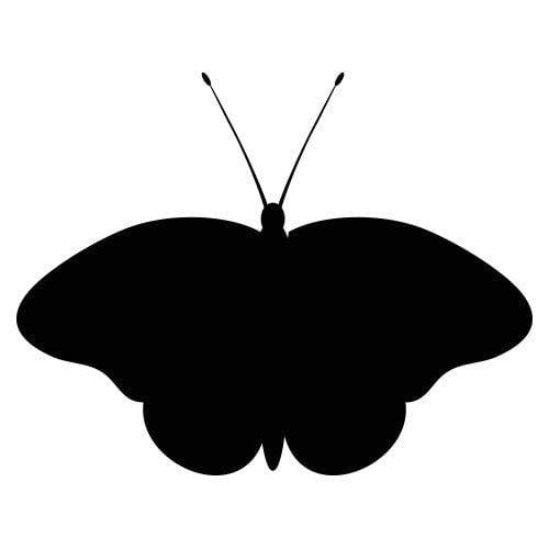 pochoir papillon 1 gratuit à imprimer