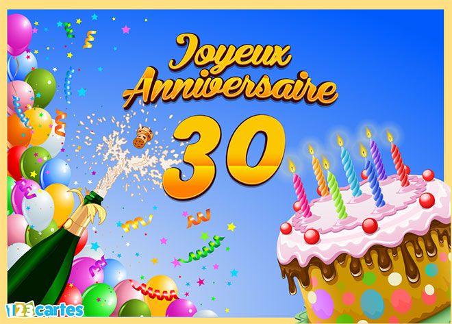 joyeux anniversaire 30ans