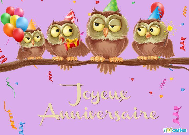Top 123cartes | Cartes et invitations anniversaire gratuites AB01