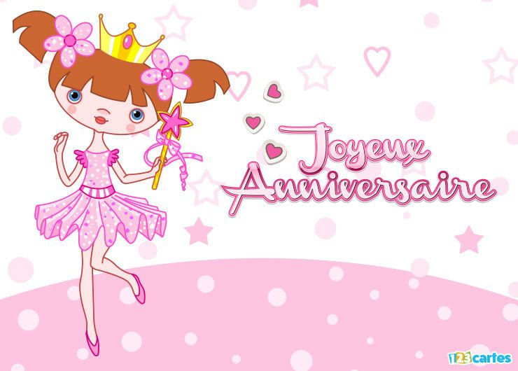 petite princesse en tutu rose qui tient une baguette magique