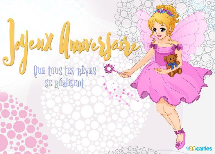 fée en robe rose qui tient un oruson en peluche et une baguette magique