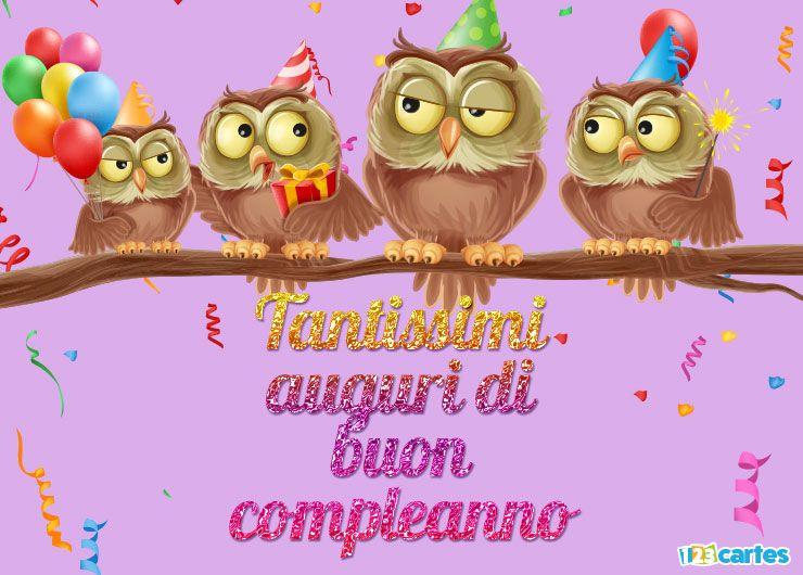 bon anniversaire italien