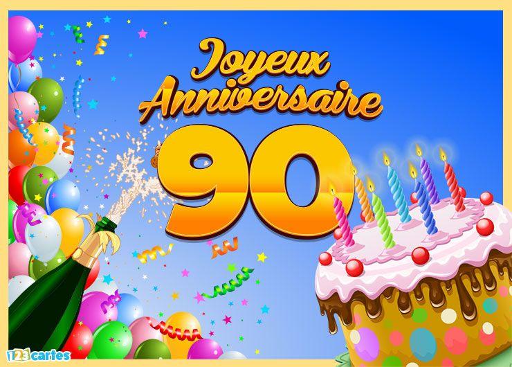 bouteille de champagne ballons de baudruche multicolores confettis et gâteau d'anniversaire avec des bougies allumées