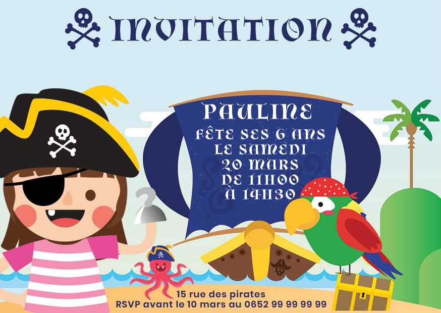 invitation anniversaire enfants 123 cartes. Black Bedroom Furniture Sets. Home Design Ideas