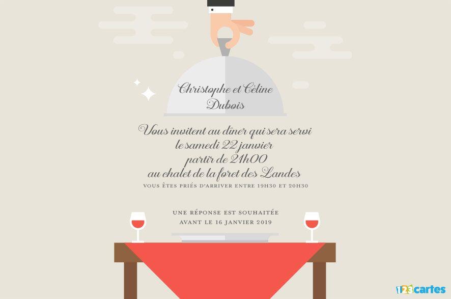 Arts de la table - Invitation à dîner