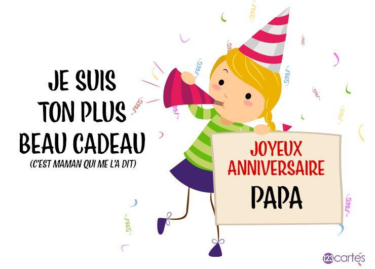 Texte Joyeux Anniversaire Pour Papa 123cartes
