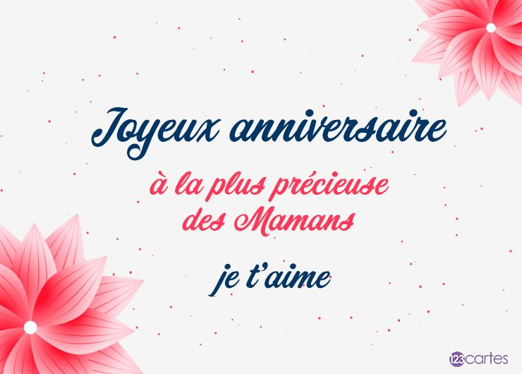 Texte anniversaire pour Maman | 123cartes.com